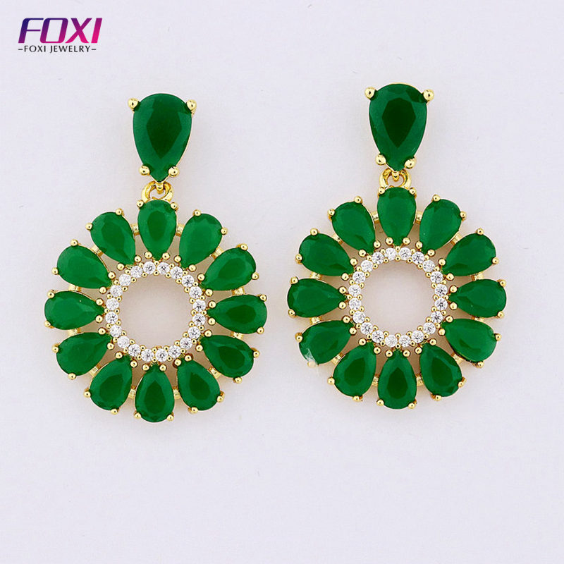 c11672df5 China Indian Earrings Emerald, China Indian Earrings Emerald Manufacturers  and Suppliers on Alibaba.com