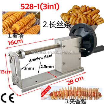 Furui Stainless Steel Potato On Stick Cutterspiral Potato Twister Cutter Buy Spiral Potato Twister Cutterspiral Potato Twister Cutterspiral
