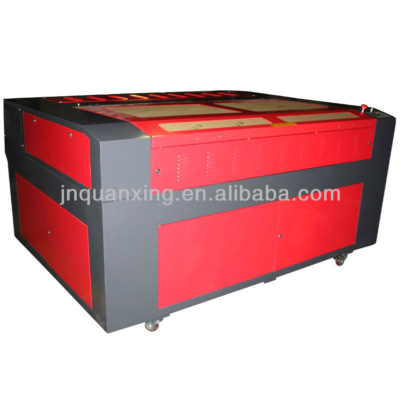 large lazer fabric laser cutting machine with high quality and great after sale service (QX1290D)