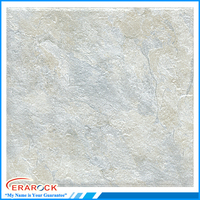 Gray color ceramic type interior bathroom floor tile