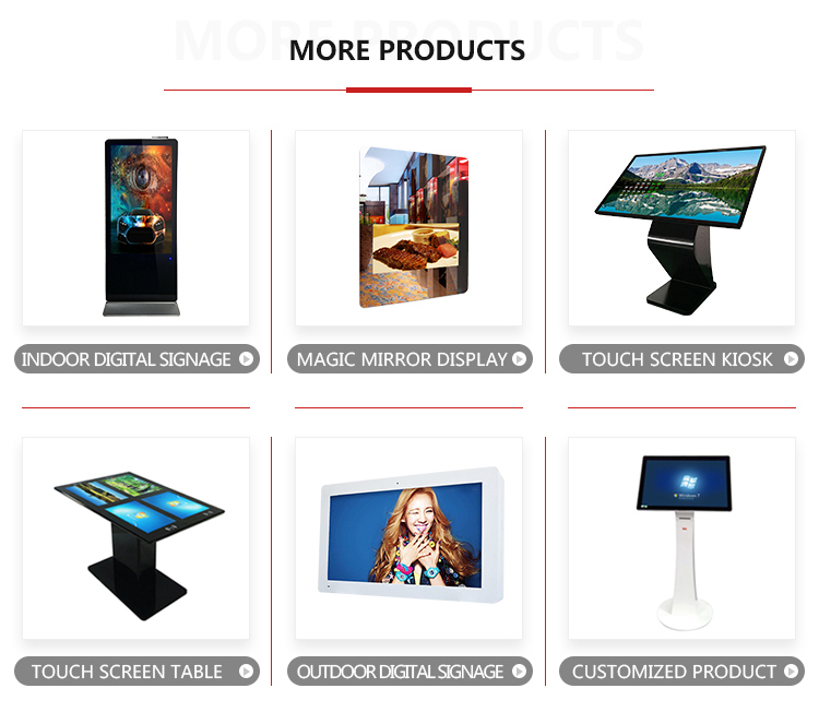 Wifi Multi Function 42 Inch Lcd Display Touch Screen For Banks