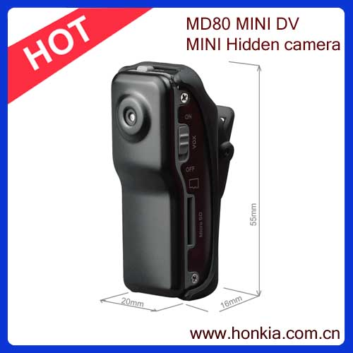 Fabrika Pice Mini DV MD80 DVR Video Kamera Gizli Video dijital kamera