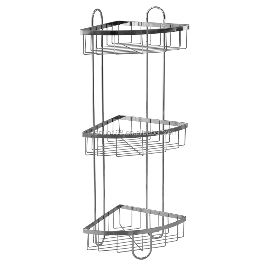 Stainless Steel Corner Shower Caddy, Stainless Steel Corner Shower ...