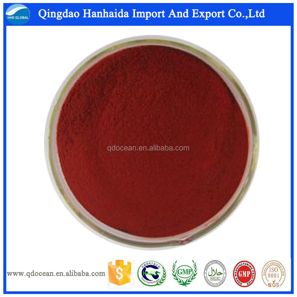 Hot sales! High quality Haematococcus pluvialis extract Astaxanthin, CAS NO.472-61-7 from gmp plant with best price!