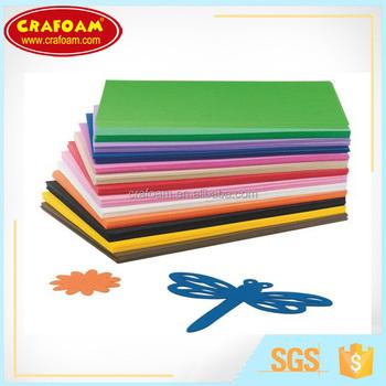Foam Sheets Plantillas Para Hacer Flores En Goma Evarainbow Colors - Plantillas-para-hacer-flores-de-goma-eva