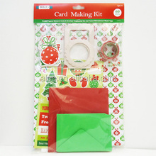 60 pcs carte faire kit bricolage carte de noël