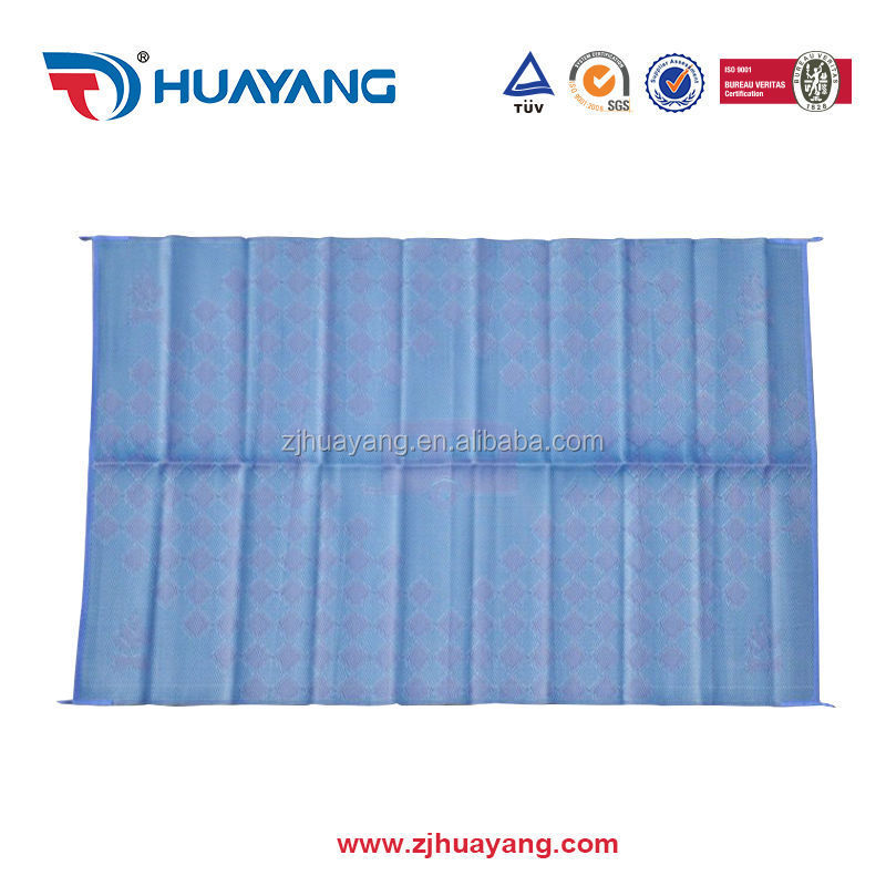 2017 Design and size can be customized plastic straw mat Huayang Factory