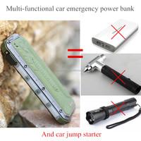 High Quality 12V Portable Mini Car Jump Starter 10400mAh Car Jumper Booster Power Battery Charger Mobile Phone Laptop Power Bank