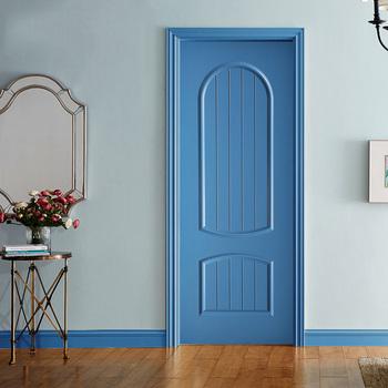 2018 Modern Style New Interior Wooden Single Door Designs