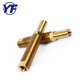 Factory brass pipe fittings Lock pex fittings for tool brass turned parts aluminum PVC fittings