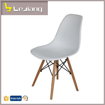 Italian Design Cheap Wholesale Wood Leg Plastic Chairs Plastic Chairs And  Tables