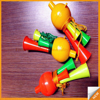 GBEY-320 2017 alibaba china market toys toys factory football fans air horn sports flag trumpet /cheapest cheering tools
