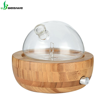 Latest design air freshener plastic led ultrasonic portable nebulizer diffuser for essential oil