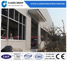 Prefabricated Two Story Steel Frame Structure Warehouse