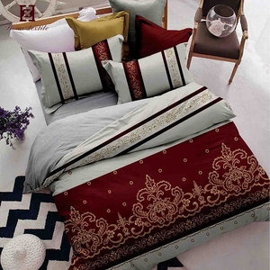 High quality home textile big lots latest polyester embroidery bed sets bedding set 200x220