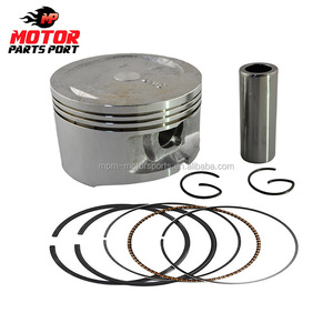 Motorcycle piston kit ring in china for CD70 A100