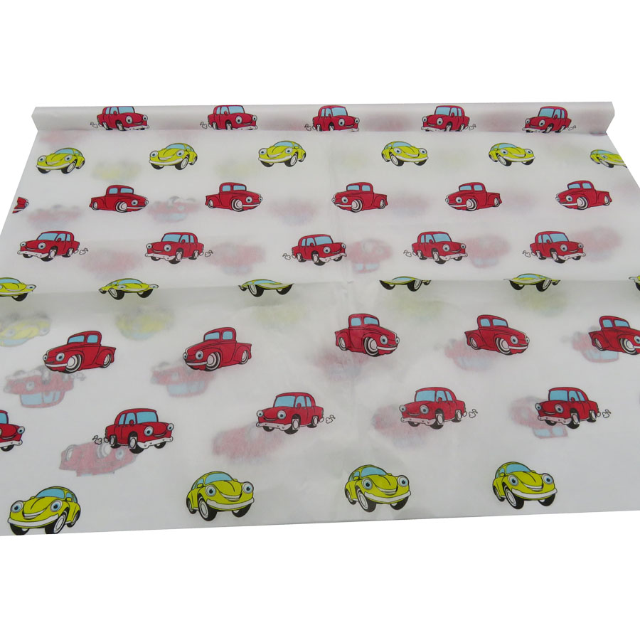branded image cartoon logo color printed <strong>christmas</strong> gift wrap <strong>tissue</strong> <strong>paper</strong>