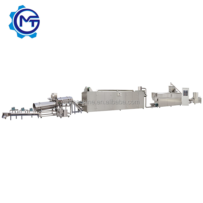 extruder to produce dog food / pellet pet food extruder / pet food processing machine