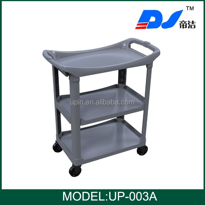 Restaurant catering trolley/Hotel dining hand pull trolley UP-003A
