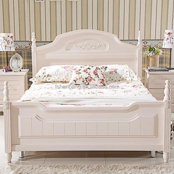 Modern Solid Wood Bedroom Furniture Set For Children Middle East Style