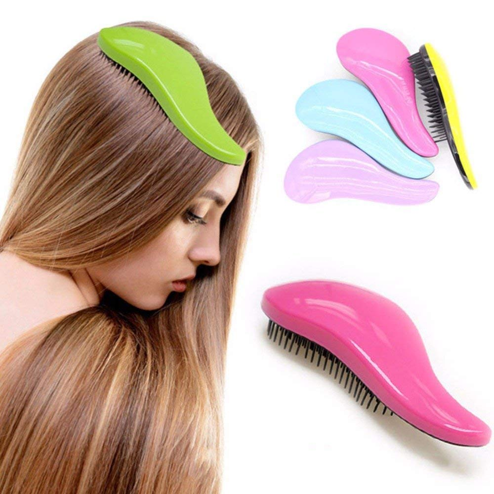475c1cfff Get Quotations · Magic Anti-Static Hair Comb Fashion TT Plastic Hair Brushes  Detangling Handle Tangle Shower Hair