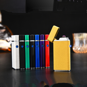 2016 new double arc rechargeable usb lighter
