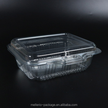 Clear Pet Tray Fruit With Lid