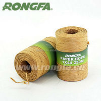 Natural Color Wire Paper Rope For Agriculture