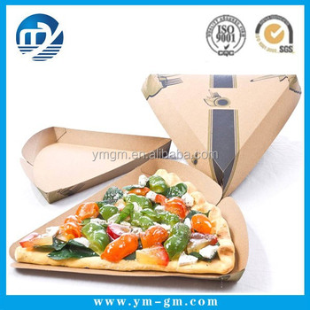 Triangle pizza packing box printing wholesale buy pizza for Triangle wholesale printing