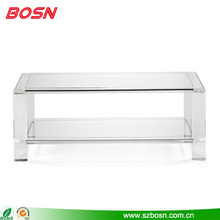 Large clear acrylic furniture living room coffee table