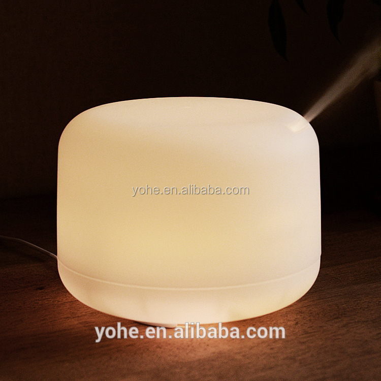spray humidifier can add the oil humidifier Ultrasonic Essential oil aroma diffuser with colorful led lamp