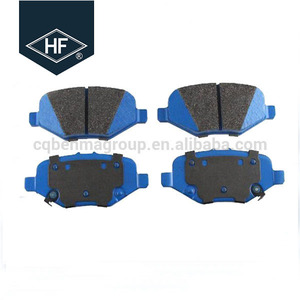 bus auto parts spare Race Car Brake Disc Pads For toyota