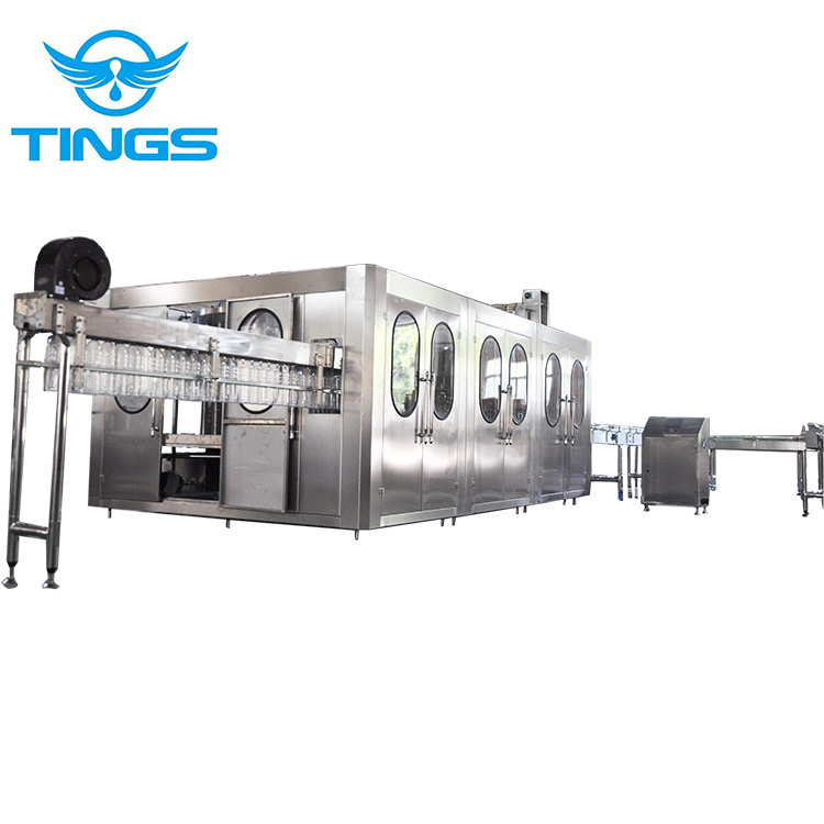PET bottle filling sealing machine for non-carbonated beverage