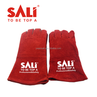 Safety Leather Welding Working Hand Gloves