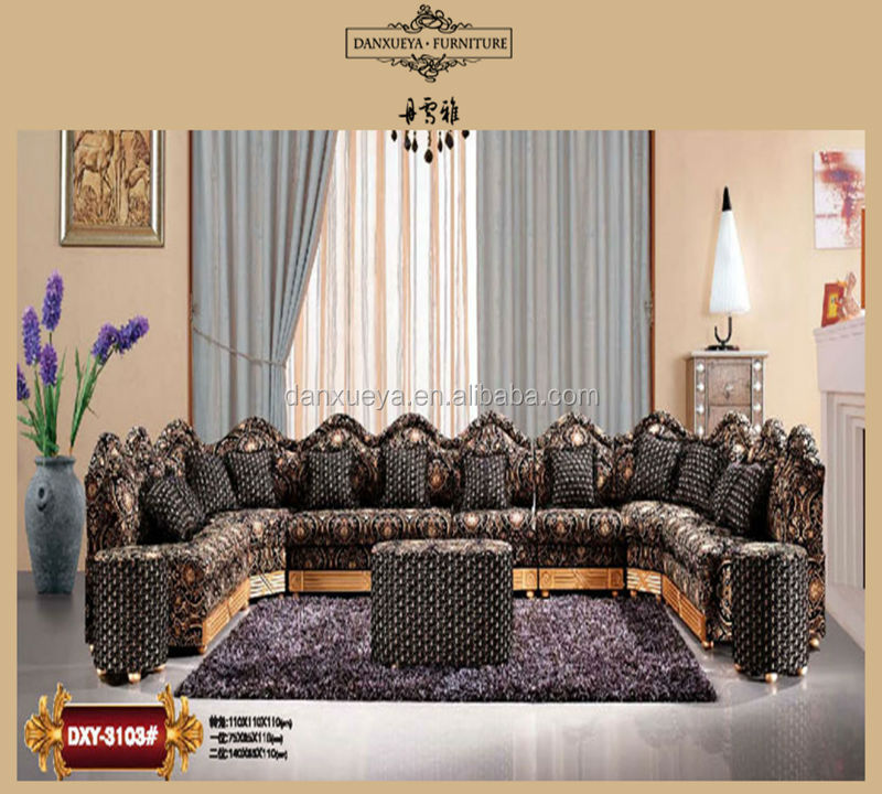 Moroccan Style Floor Seating Corner Fabric Sofa Buy