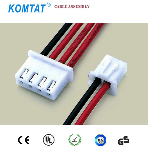 4pin Jst Connector 2.54mm Pitch Wiring Harness And Flat Ribbon Cable ...