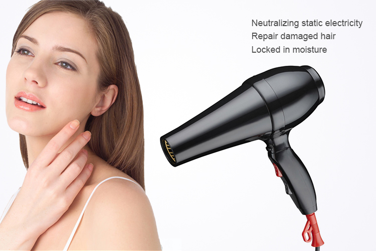 Professional electrical AC motor hair drier sets from CIXI WODE