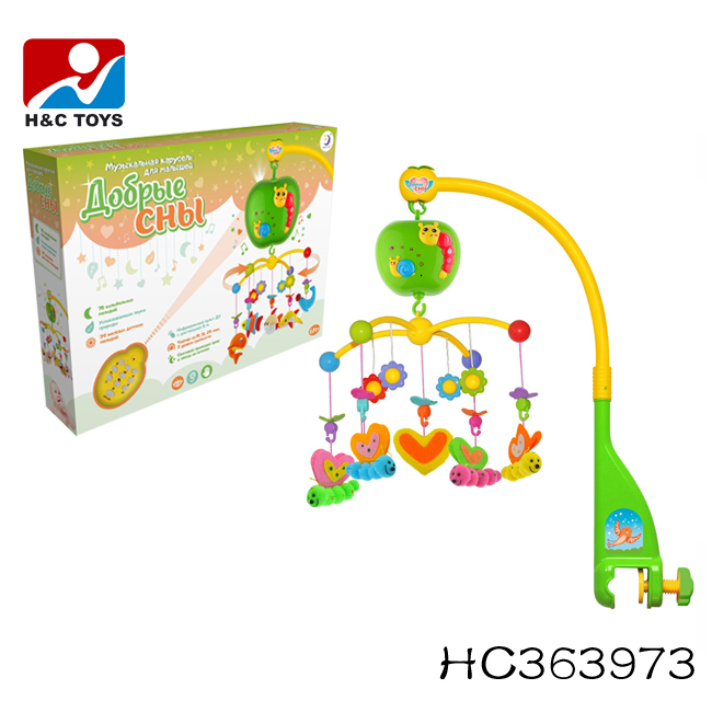 China manufacture high quality creative musical cot mobile baby mobile HC394195