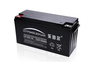 toyo agm battery Credit guarantee ups battery factory LP150-12 with CE TUV UL certificate