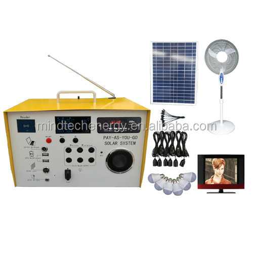 40w prepaid management solar home system