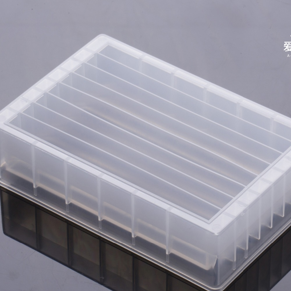 Lab Supplies 8 Channel Troughs Reagent Reservoir - SBS Standard PP Material