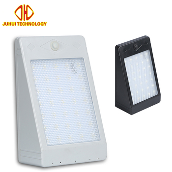 Waterproof out door security ip65 6w 12w led solar wall lighting