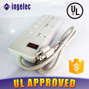 UL Listed American Standard Universal Socket Outlet Power Strip Supplier
