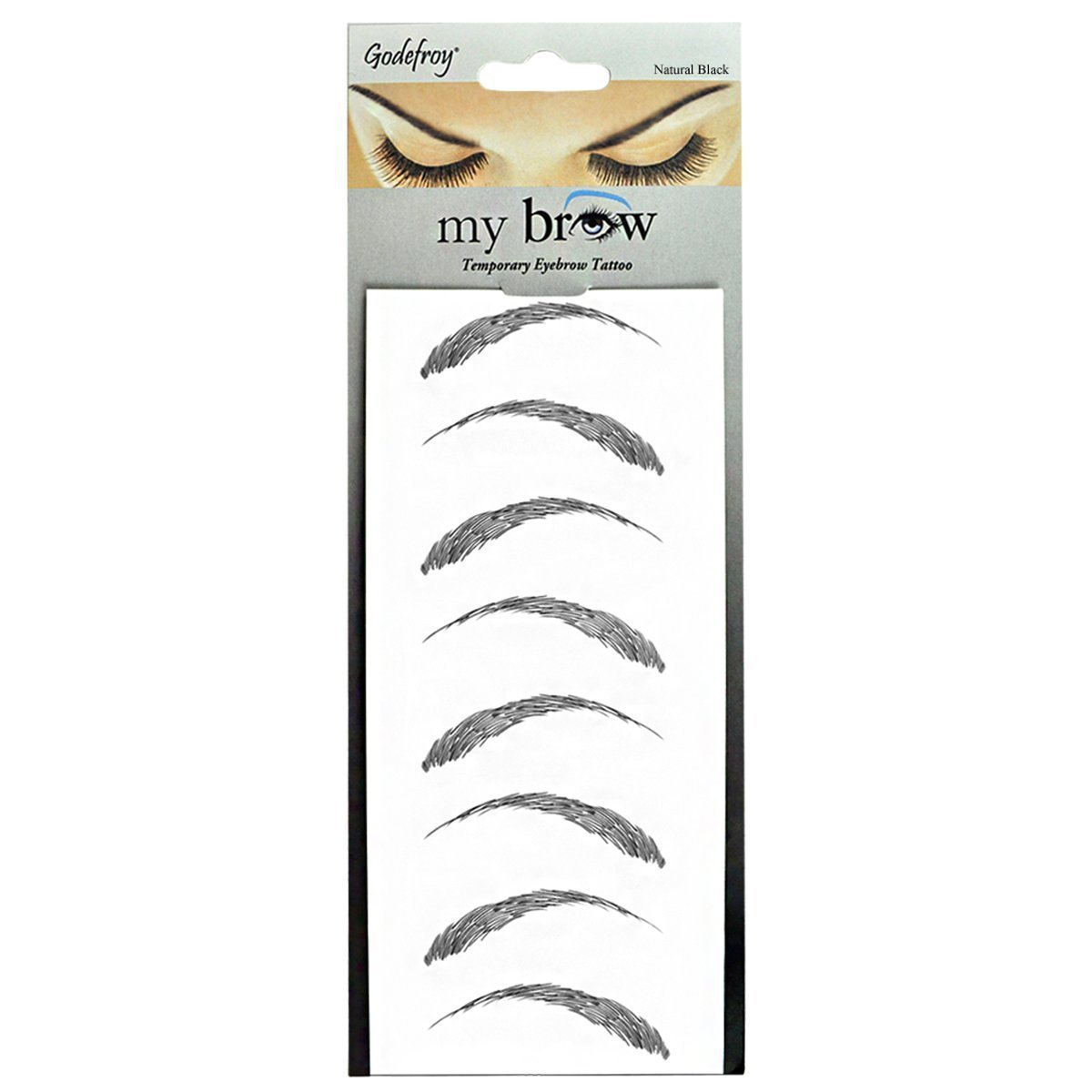 Buy Godefroy My Brow Temporary Eyebrow Tattoo Light Brown In Cheap