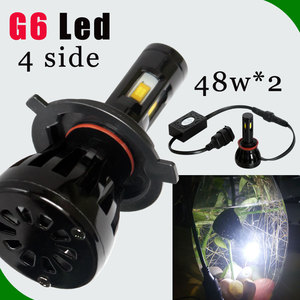 New Product Extremely Bright Car Led Headlight 96W Projector h3 h4 h11 h16 880 881 9004 9007 HB4 HB3 D1 replace xenon car light