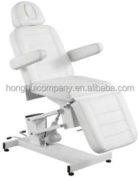 Electric Beauty Bed Luxury Thai Massage Cosmetic Spa Table White Color