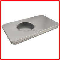 recyclable metal can wholesale small tin box for battery