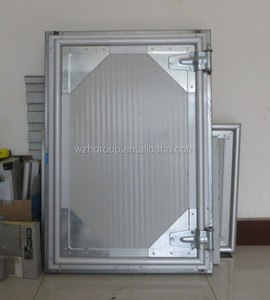 Prehung cool room flush door / 75mm 50mm thick for coolroom
