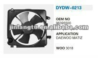 RADIATOR FAN DAEWOO MATIZ
