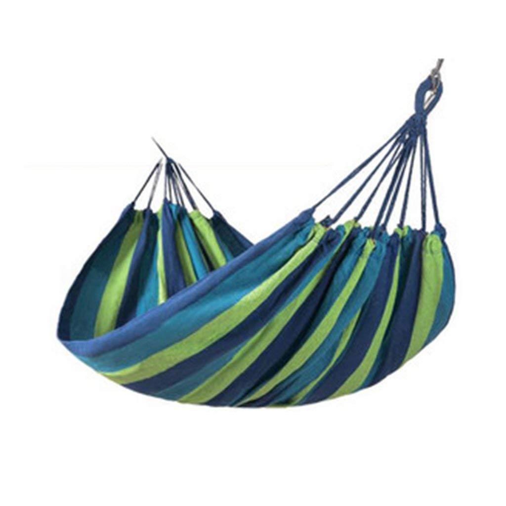 Ren Chang Jia Shi Pin Firm Canvas outdoor hammock camping swing anti rollover chair 200150 CM
